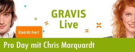 Pro Day bei Gravis mit Chris Marquardt