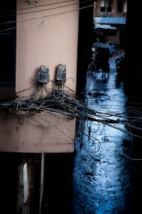 Elektrik in Katmandu