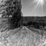 Raising Pinhole Wide - Weg in Sonne