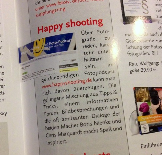 Happy Shooting in der NaturFoto