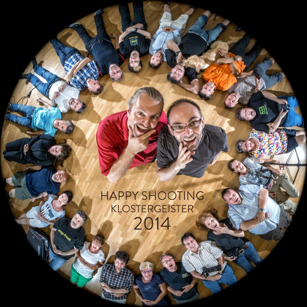 Klostetgeister 2014 - Gruppenbild